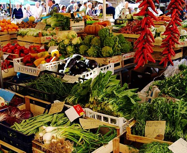 Market Walk in Padova