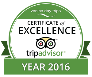 Certificate of Excellence 2016 Venice Day Trips